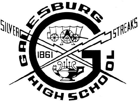 Galesburg High School logo