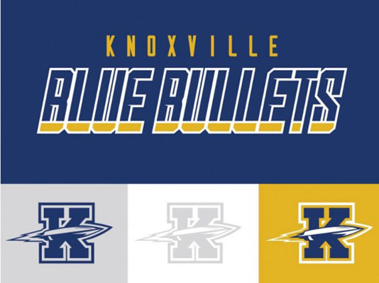 Knoxville Blue Bullets logo