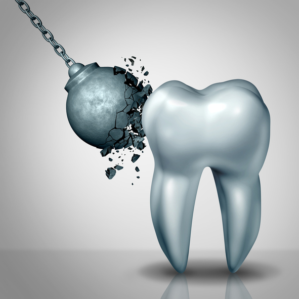 Strong tooth enamel