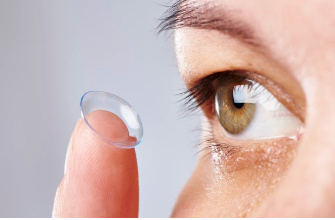 This is the image for the news article titled Glasses Vs. Contacts