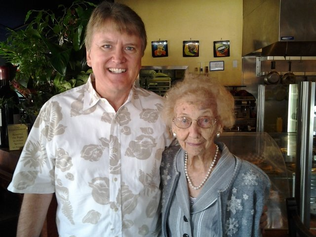 Dr Sudick celebrates Annetta Stigenstam's 100th Birthday